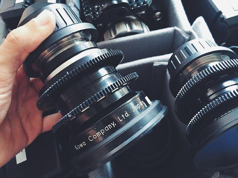 Kowa Prominar lens Paris